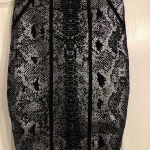 Snake Foil Mirage Bandage Skirt